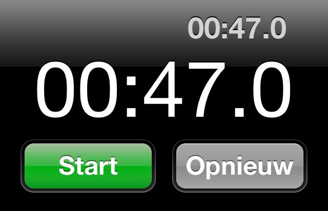 Kortste vlucht ter wereld: 47 seconden