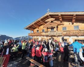Hütten-Gaudi-weken in de SkiWelt