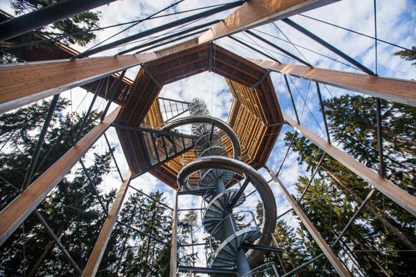 Uitzichttoren Stezka Korunami Stromů Lipno