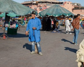 Valse gidsen in Marrakech