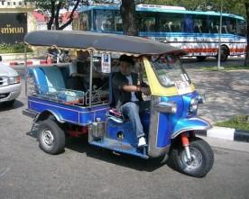 Tuk-tuk's in Thailand
