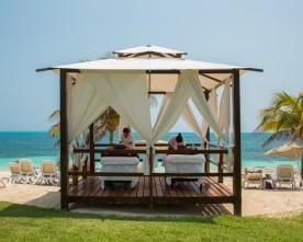 Massage op het strand