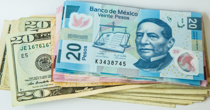 Mexicaanse pesos of dollars?
