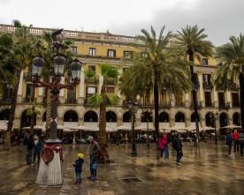 Regenachtig Barcelona