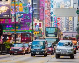 Hong Kong meest bezochte stad