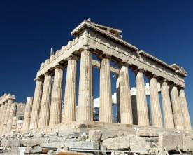 Toeristenvallen in Athene
