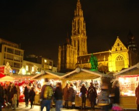 Kerstmarkt Antwerpen start 7 december 2013