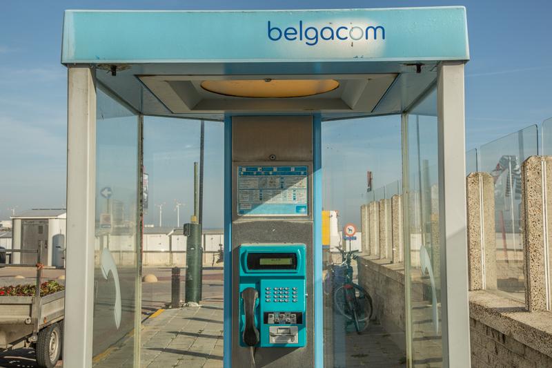Telefooncellen verdwijnen in België