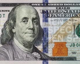 Nieuw biljet 100 dollar