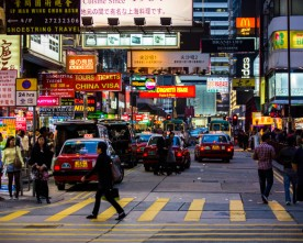 Hectisch Hong Kong