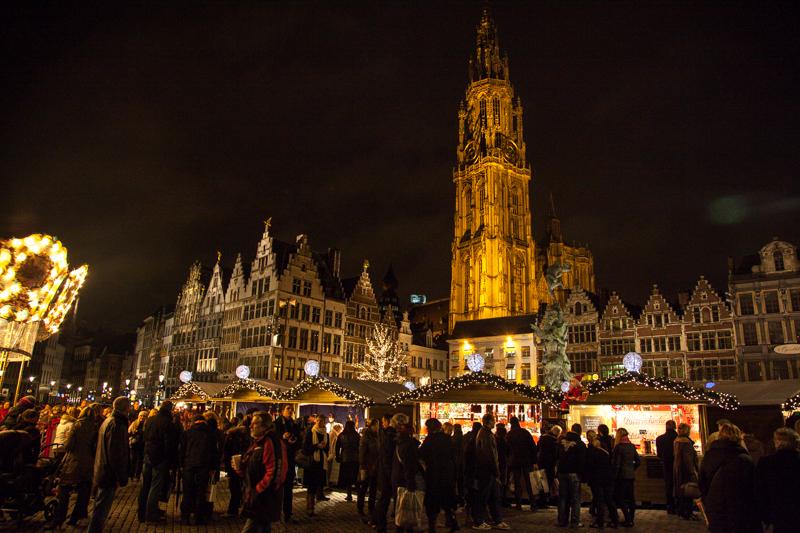 Kerstmarkt Antwerpen 2013