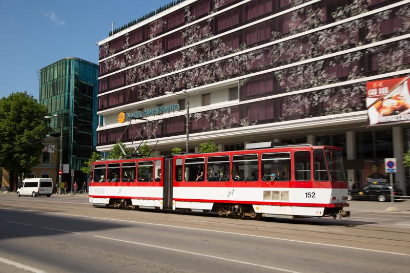 Gratis openbaar vervoer Tallinn