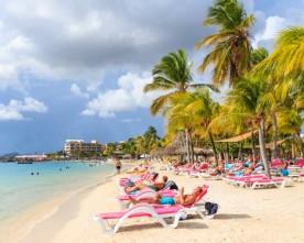Curacao Beach Boulevard viert kerst!