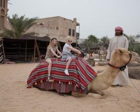 Met kinderen naar Dubai