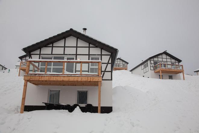 Eindelijk sneeuw in Winterberg
