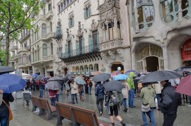 Pas op voor zakkenrollers in Barcelona