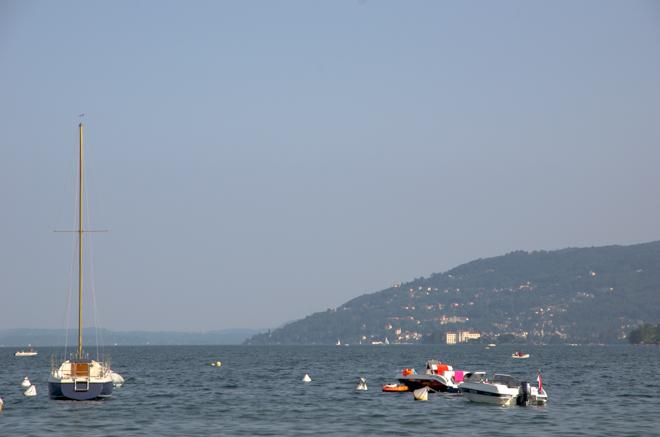Varen op het Lago Maggiore