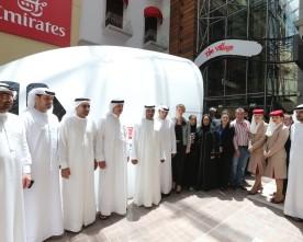 Airbus A-380 simulator in de Dubai Mall