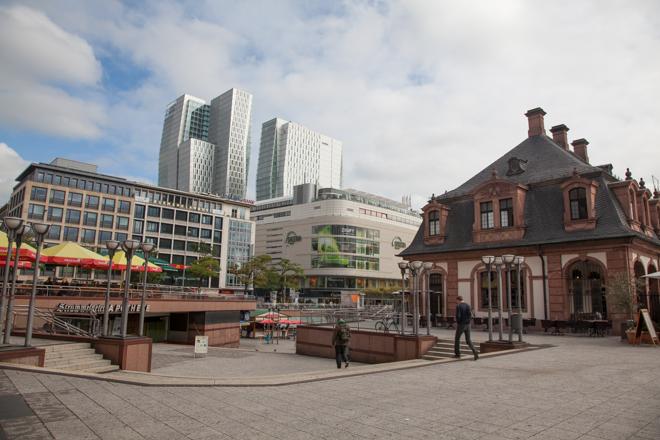 Citytrip naar Frankfurt