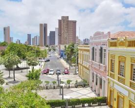 Nederland-Mexico kijken in Fortaleza