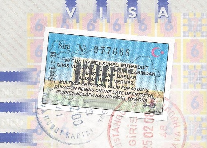 Misleidende informatie visum Turkije