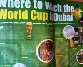 WK voetbal kijken in Dubai