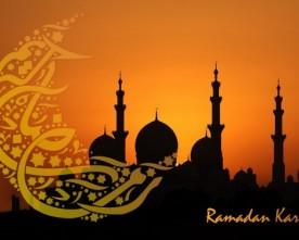 Ramadan is begonnen