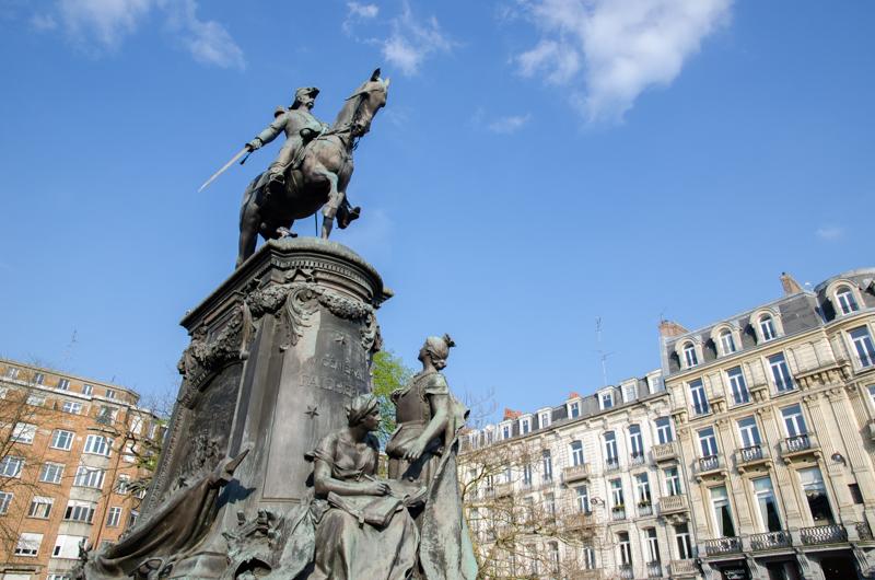 Stoppen bij Lille