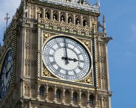 Geen tijdsverschil meer met Engeland?