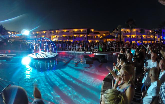 Feesten op Ibiza