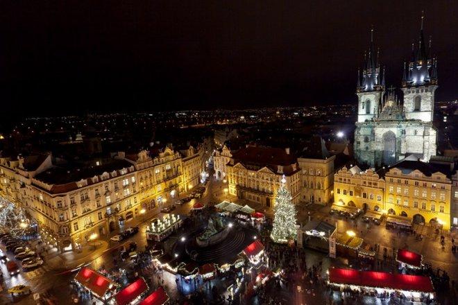 Kerst en Oud en Nieuw in Praag