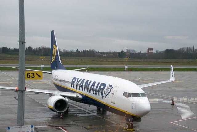 De eerste keer Ryanair