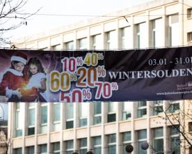 Antwerpen populair tijdens wintersolden