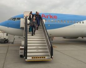 De nieuwe 737-800's van Arke