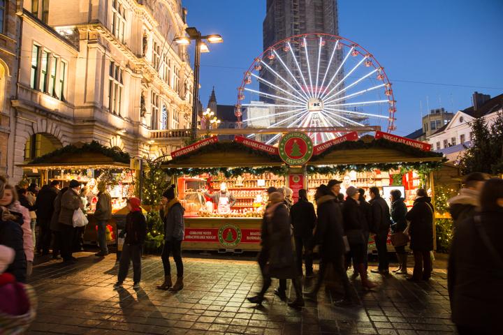 Belgische kerstmarkten in 2015