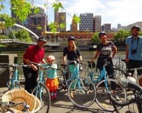 Melbourne fietsend verkennen