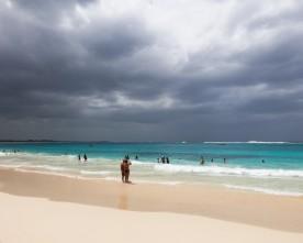 Punta Cana opmerkelijk nat