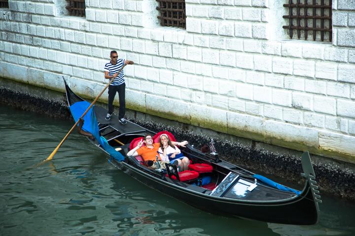 Traditioneel door Venetië