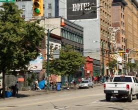 De daklozen van Vancouver