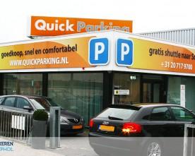 Veilig, snel en gemakkelijk parkeren bij Schiphol