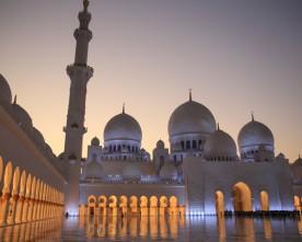 Sheik Zayed Moskee in Abu Dhabi
