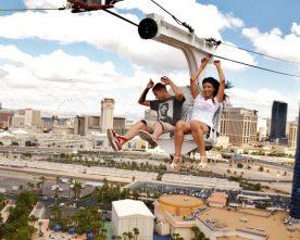 De leukste ziplines van Las Vegas