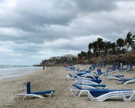 Ook in Cuba is het weer van slag