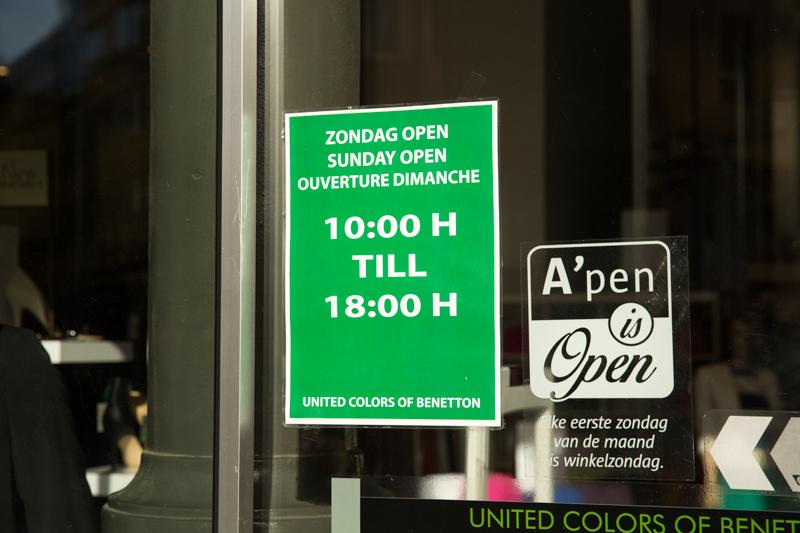 Winkels in Antwerpen zijn open op paaszondag