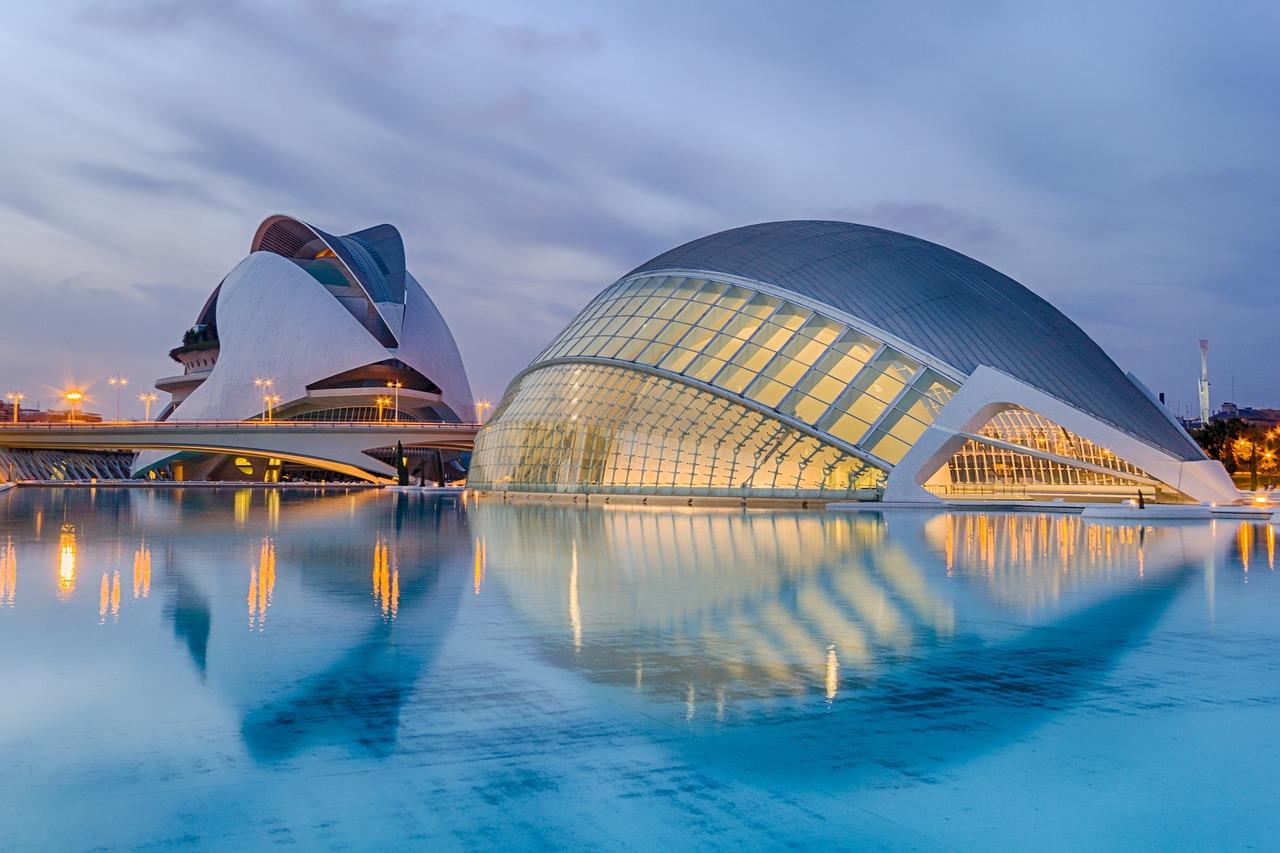 Valencia's Ciutat de les Arts i les Ciències