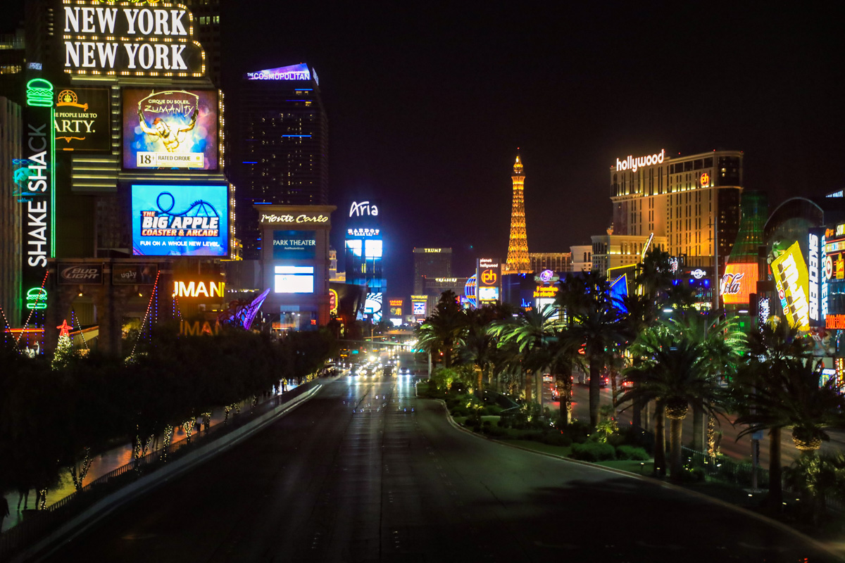 Las Vegas wordt helemaal hot