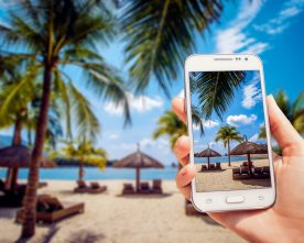 Smartphonegebruik op vakantie