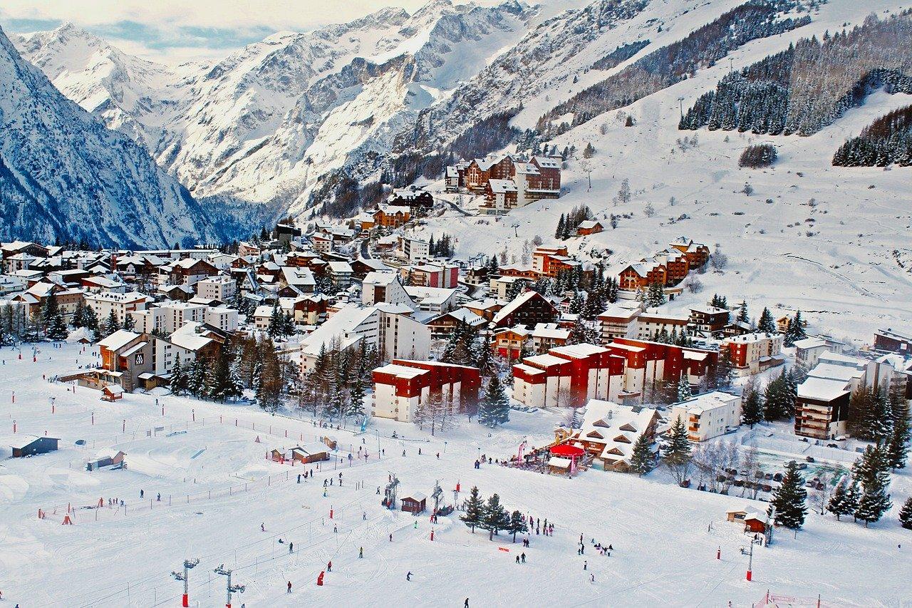 In 2020 op wintersport in Frankrijk met het vliegtuig