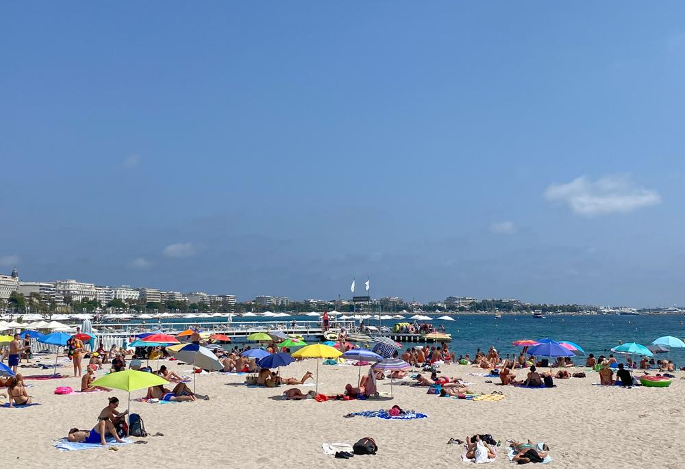 Cannes tijdens de coronacrisis