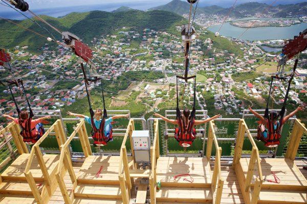 Ontdek de steilste zipline ter wereld